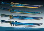 4-Blue river blades  - Adoptables open