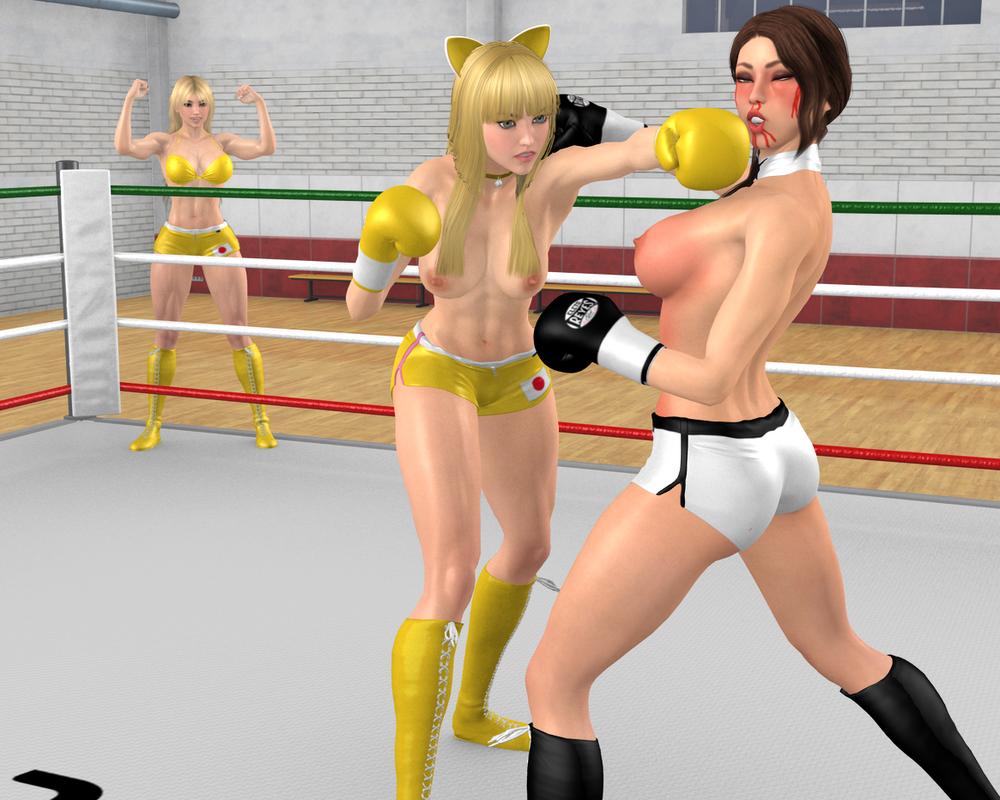 Random KO: Shizuka vs Jazmin by danisan9502