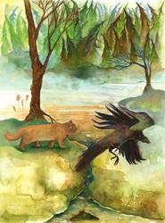 (illustration 3) Frog pond