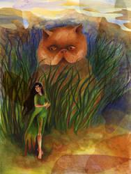 (illustration 4) Meeting an elf