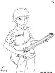 faizzurohman .:sketch:. by lunasutisna