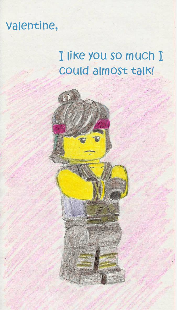 Lego Ninjago Movie Funny Valentine Cole By Blysk On Deviantart