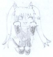 Chibi Miku by Sharingan-Shinobi