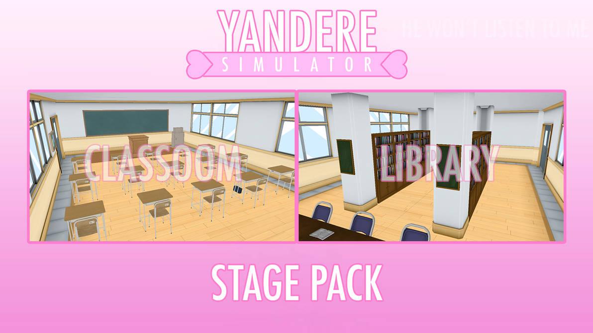 Mmd Yandere Simulator Stage Pack Dl By I See You1 On Deviantart