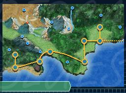 Taladen Pokemon Region Map by RedcarpetBlues