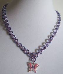 Cosmic Butterfly Necklace