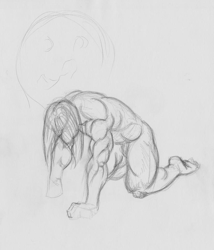 Werewolf Transformation Deviantart Werewolf Transformation Sketch