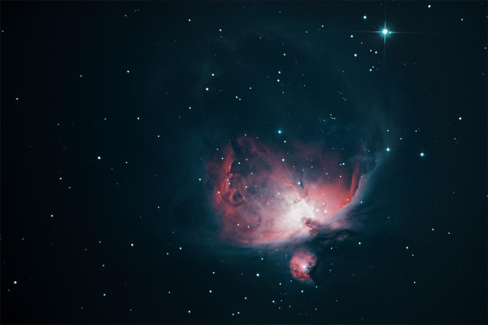 Orion nebula by alkhor
