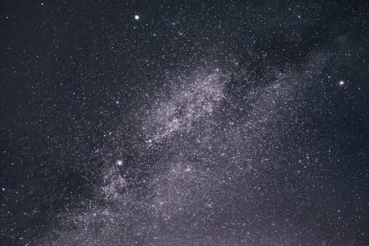 Milky way, cygnus