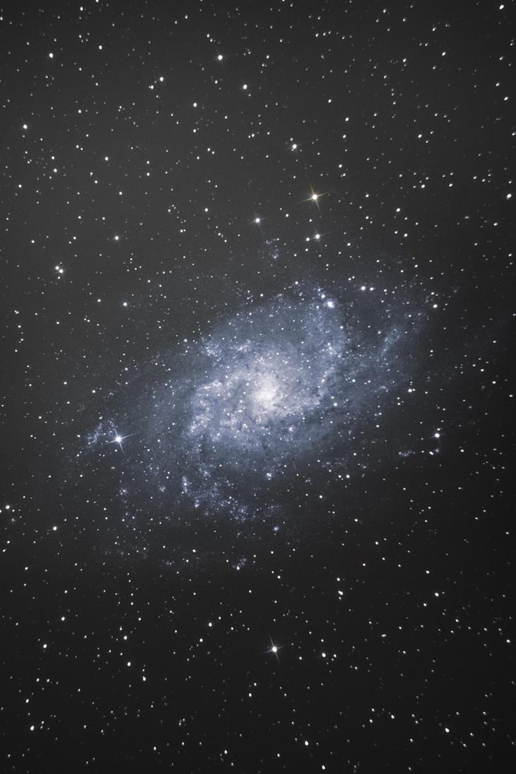 M33 galaxy by alkhor