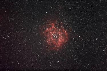Rosette nebula NGC2239 by alkhor