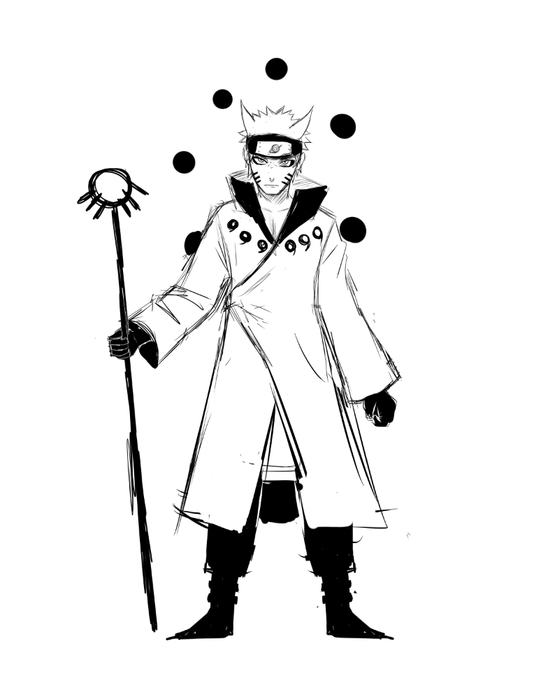 Naruto Sage Of The Six Paths Sage of Six Pat...
