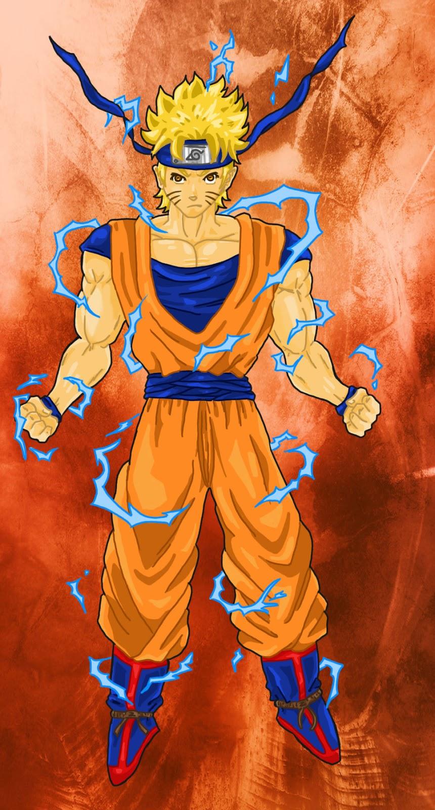 Naruto super saiyan by kamikage86 on deviantart - Dessin naruto en couleur ...
