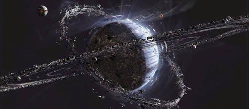 Jupiter Ascending Planet Orus by Kamikage86