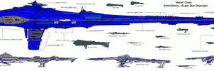 Gaian Ascendacy Warships by Kamikage86