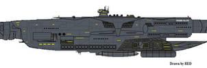 Wing Commander TC StrikeCarrierTigerClawM
