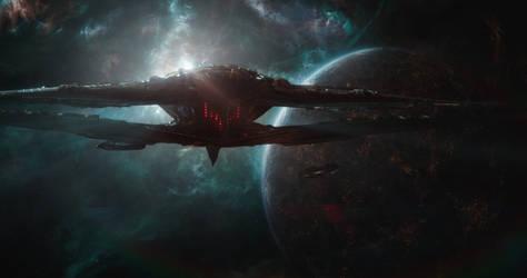 Marvel Avengers Endgame Sanctuary II by Kamikage86
