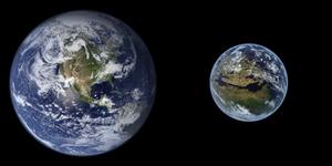 Terraformed Mars and Earth Comparison