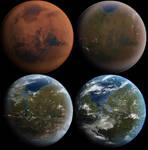 Mars Terraformation Transition