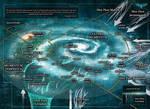 W40K Tyranid Hive Fleets Galaxy Map