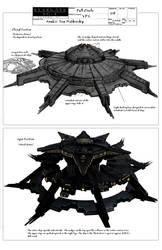 Stargate Anubis Mothership Concept Art