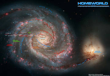 Homeworld Galaxy by Kamikage86