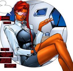 DC Comics Starfire Business Suit