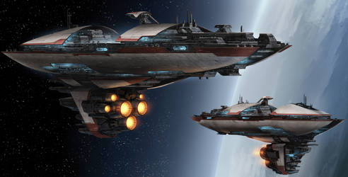 Star Wars Valor-class cruiser by Kamikage86