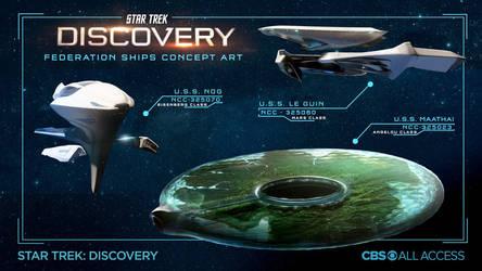 Star Trek Discovery season 3 32nd century starship by Kamikage86