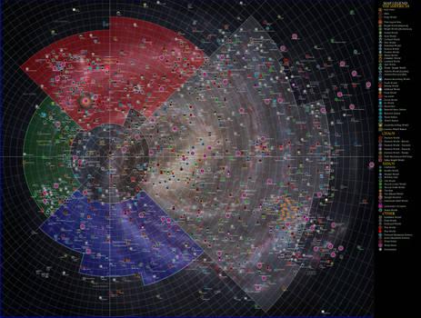 W40k Galaxy Map With Galaxy by Kamikage86