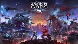 DOOM Eternal Ancient Gods Part 2 Cover Art V2