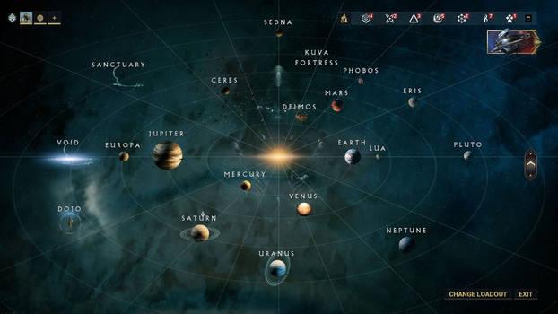 Warframe Starchart Deimos