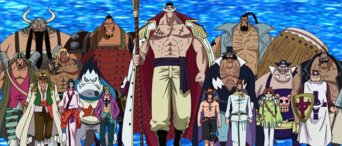 One Piece Whitebeard Pirate Division Commanders