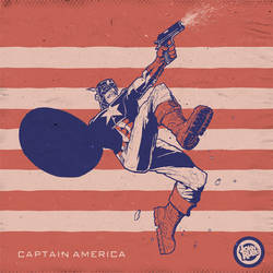 Captain America by johnsaulrubio