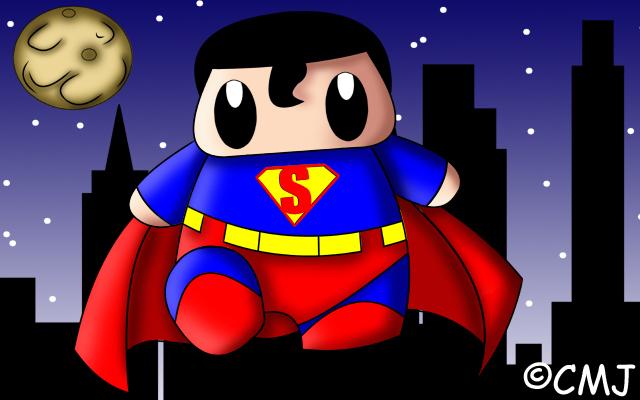 Superman by cmjcutiepie