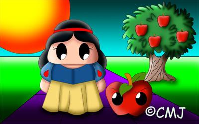 Snow White by cmjcutiepie