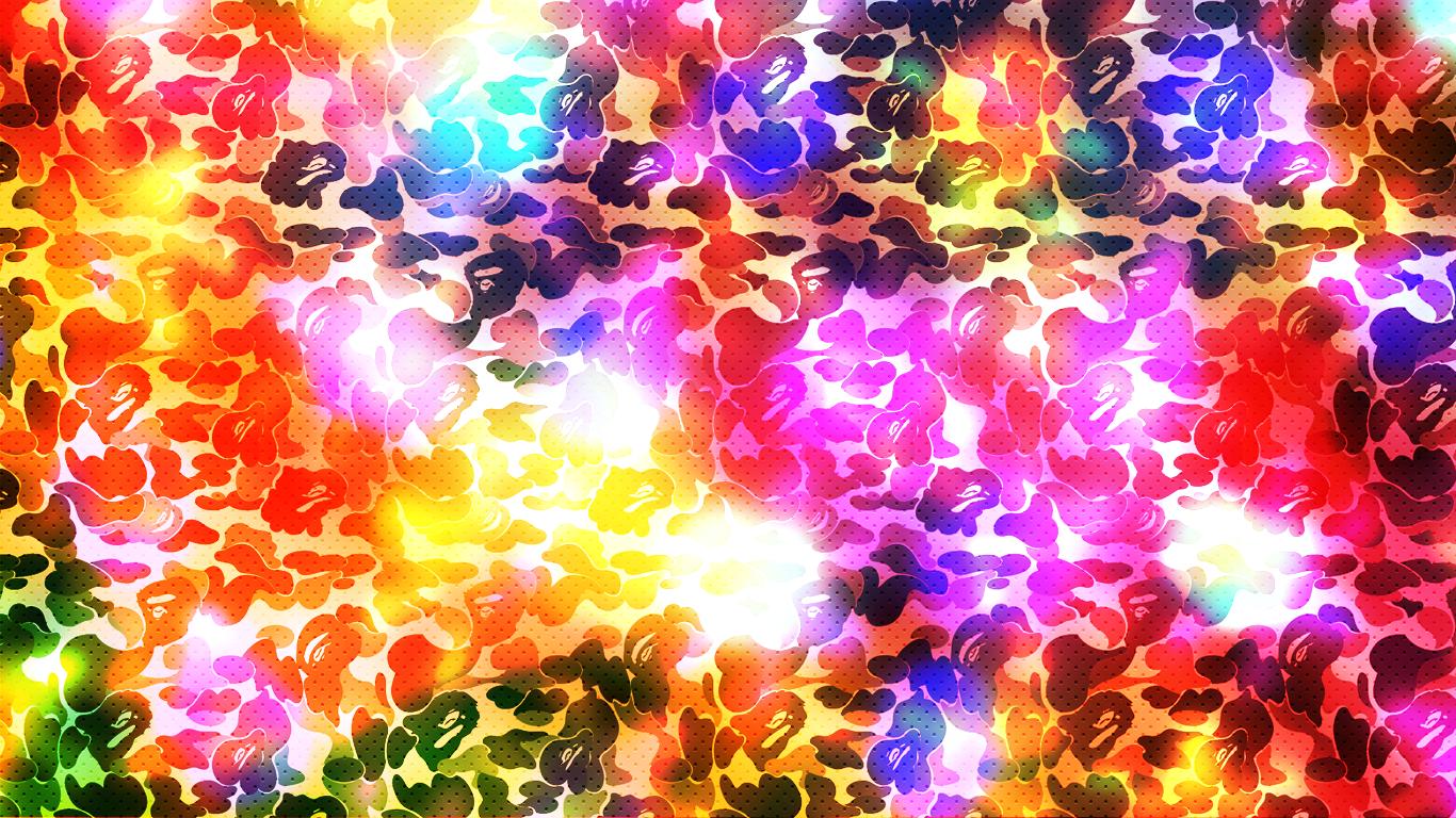 BAPEsta Coloured by kon