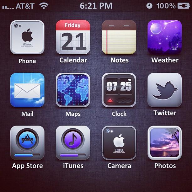 iOS 5 Icons by kon