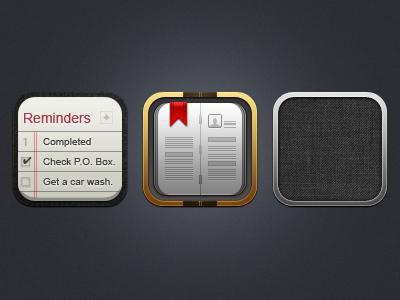 More iOS 5 Icons by kon