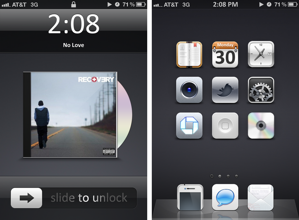 Back on my bullshit iOS5 by kon