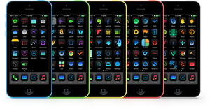 Obscuro and iOS 7 Theme