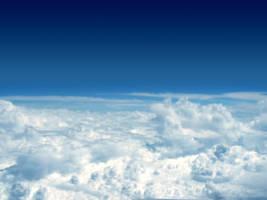 clouds bellow by kon