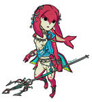 Toon Princess Mipha
