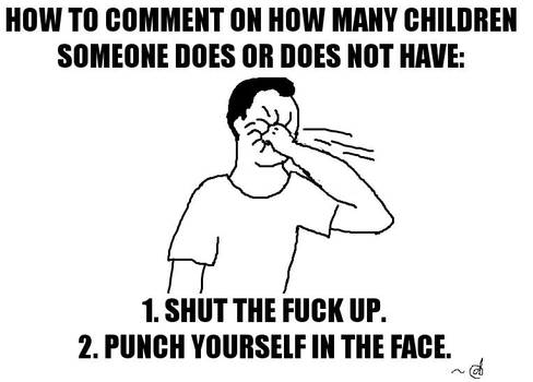 How to Comment on How Many Children...