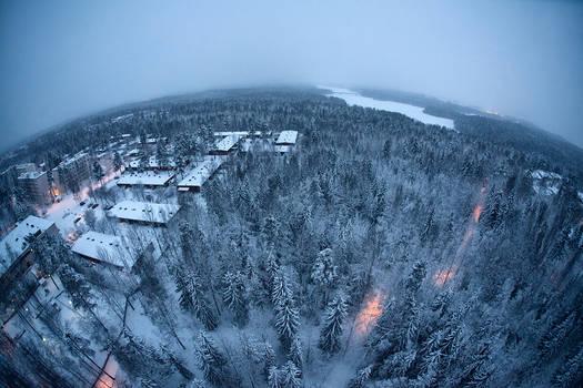 Winter in Hervanta