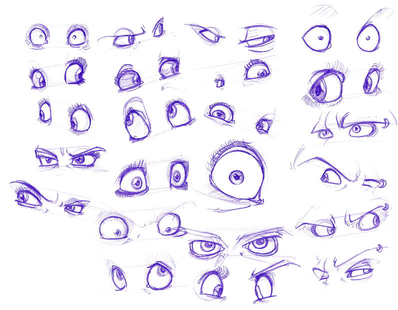 Expressive Eyes Drawing Reference Guide Drawi