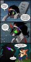 Comic - Sombra Strikes Back? (Commission)