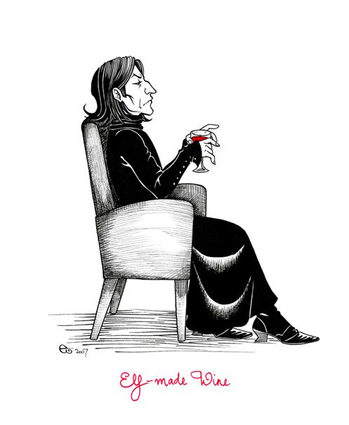 Elf-made Wine by Sigune