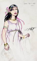 TDH: costume design Ygraine 1 by Sigune