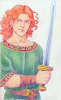 Gawain with Niassa by Sigune